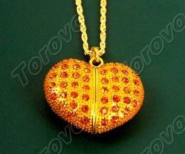 心形珠宝U盘