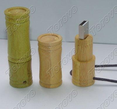 挂绳竹节U盘