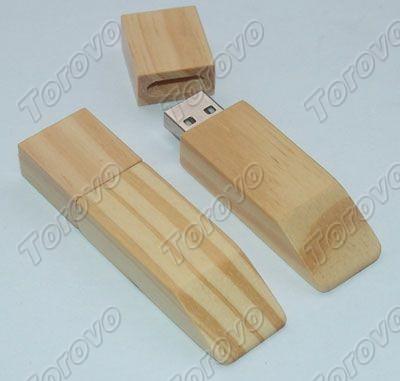 梯形木头U盘