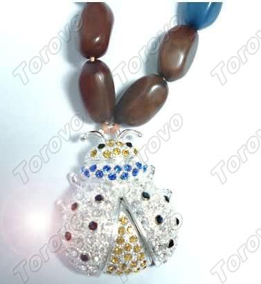 珠宝水晶虫子U盘