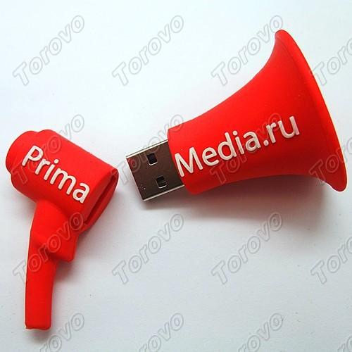 为primamedia公司定做开模喇叭U盘