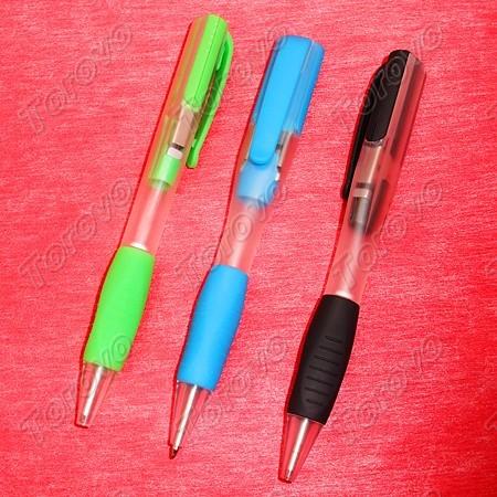 笔和U盘巧妙结合彩色圆珠笔型U盘
