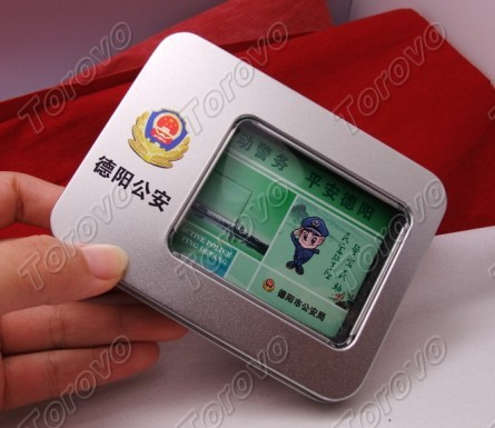 卡片U盘铁盒包装,正益通定制