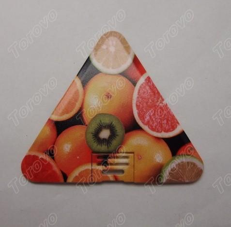商务名片U盘/三角形造型卡片U盘