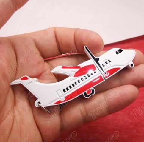 经典商务礼品金属材质造的飞机U盘