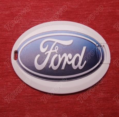 福特椭圆造型的商务名片式U盘定做