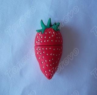 新款仿真食物U盘之草莓U盘