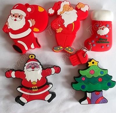 圣诞节礼品圣诞树礼品U盘