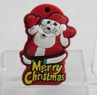 Christmas man圣诞人U盘节日礼品