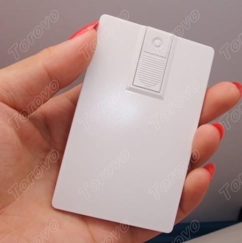 新款智能推拉款式磁卡U盘/卡片U盘