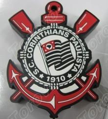 科林蒂安球会的标志设计成硅胶U盘