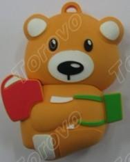 泰迪小熊U盘广告礼品定制热门推荐