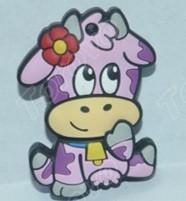 个性大胆卡通版设计幸福牛U盘推荐