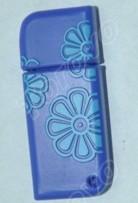 蓝色迷你经典设计的PVC浪花U盘销售