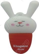 亮丽色彩巧妙配搭的萝卜兔U盘出售