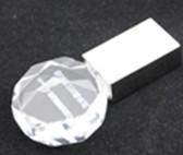 圆体状led水晶U盘正益通厂新款推荐
