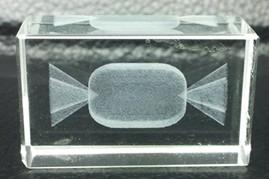 3D立体糖果状模型激光内雕水晶U盘